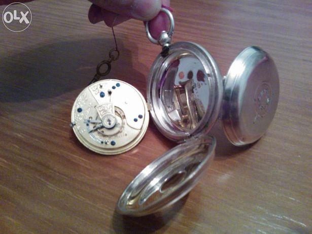 Vendo antigo relógio de bolso inglês (prata) john forrest, RARO