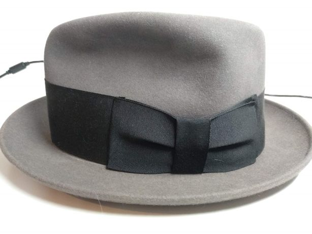 Vintage Chapéu Fedora Knox Fifth Av. tamanho 6 7/8 (56cm) - impecável
