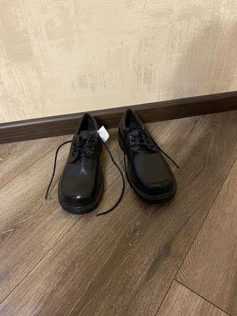 Детские туфли на мальчика (кожжзам)