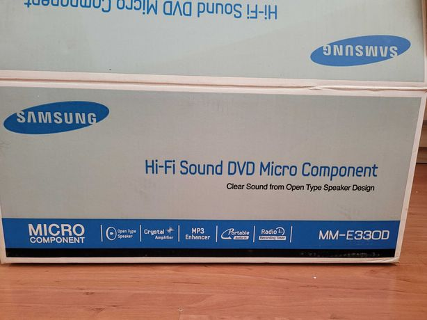 Mini wieża Samsung MM-E330D Stan IDEALNY