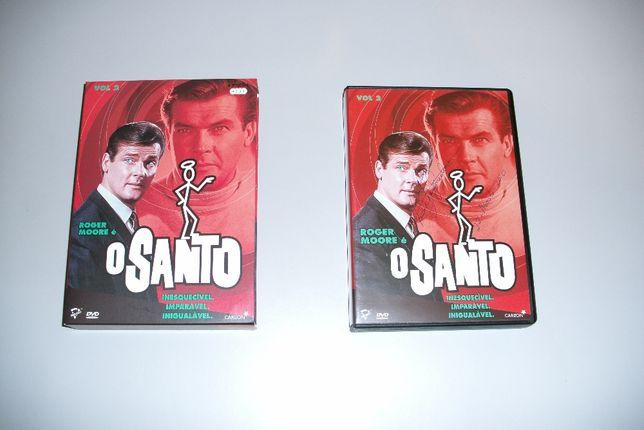 O Santo Roger Moore 4 DVDS