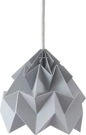 Lampa Moth szara
