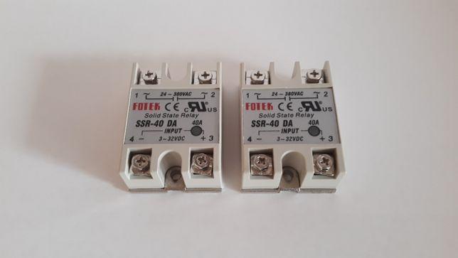 Nowy przekażnik półprzewodnikowy Fotek SSR-40 DA, 32VDC/380VDC