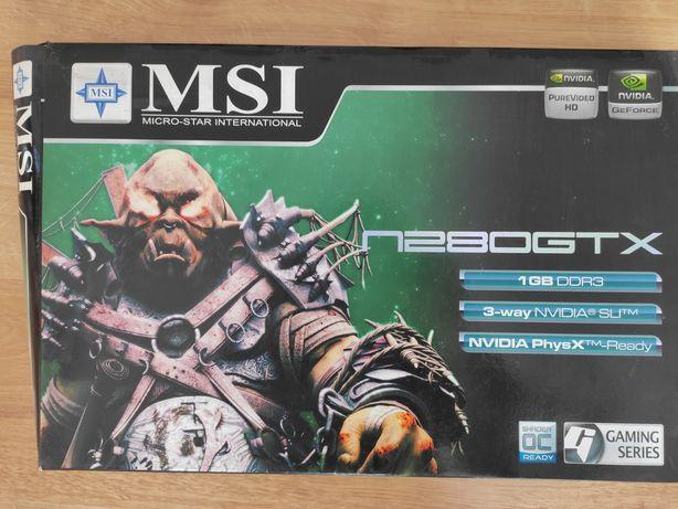 Karta graficzna MSI n280gtx 1gb ddr3 PCI x16