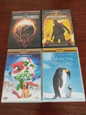 Quatro filmes para todas as idades