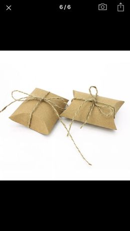 Коробки из крафт-бумаги