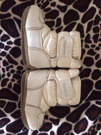 Зимние ботинки фирменные сапожки Tommy