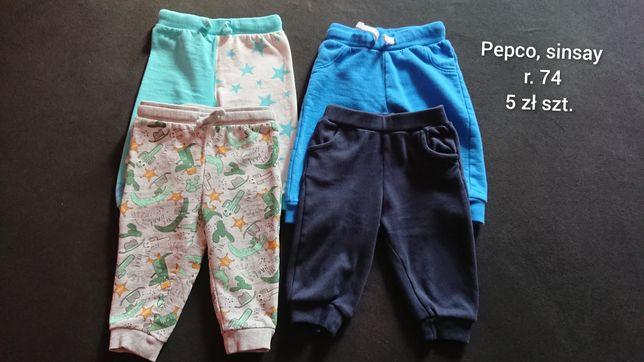Zestaw spodni chłopięcych r. 74