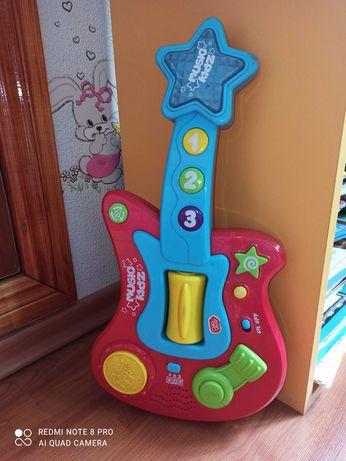 Гитара музыкальная игрушка музыкальный инструмент детский