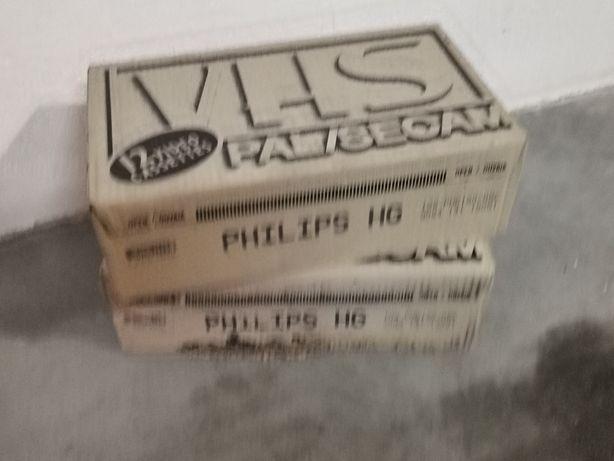 Cassetes VHS Philips