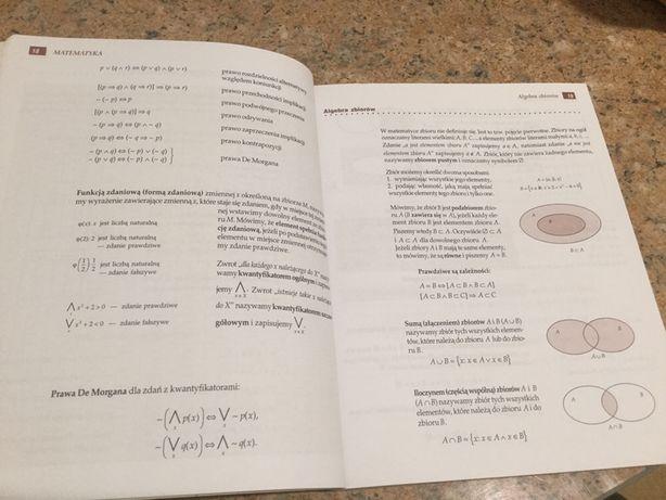 Tablice matematyczne. Książka. Tomasz Szymczyk.