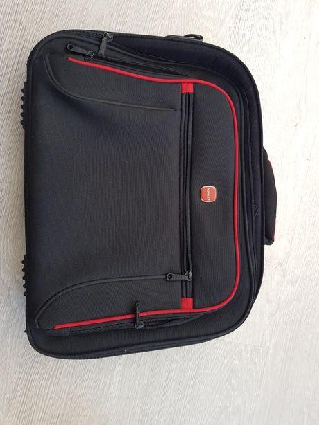 Torba plecak na laptopa komputer tablet dokumenty super jakość 15 cali