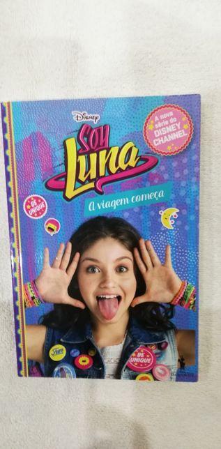 """Livro """"Soy Luna - A Viagem começa"""""""