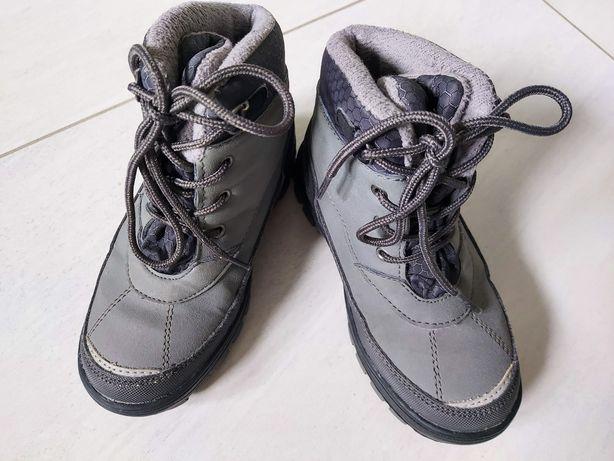 Buty chłopięce szare rozm 28