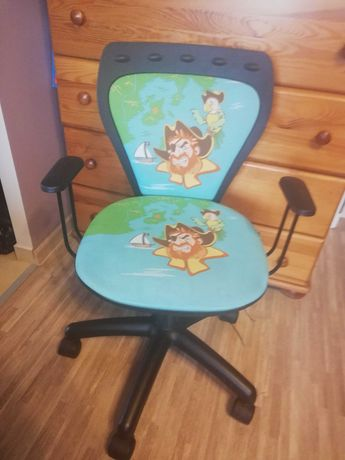 Krzesło na kółkach dla dzieci