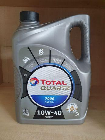 Моторное масло Тотал TOTAL Quartz 7000 ENERGY 10W-40 5 л .