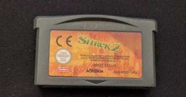 Shrek 2 -Nintendo GBA/Game Boy Advance - Originais