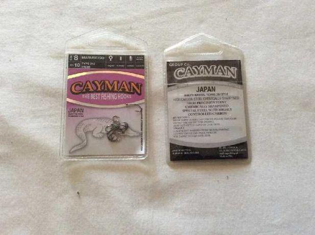 """крючки рыболовные """"Cayman"""""""