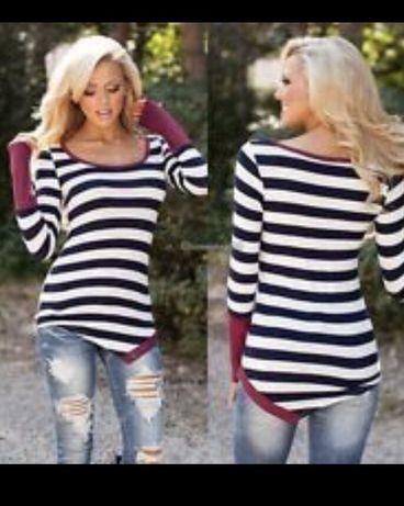 Bardzo ładna bluzka/ cienki sweter