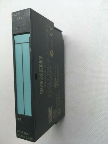 Siemens S7 6ES7138-4CA01-0AA0 PM-E DC24V ST Powermodule PLC