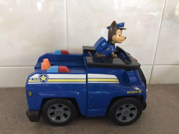 Машина щенячий патруль pow patrol со звуком и щенком. оригинал.
