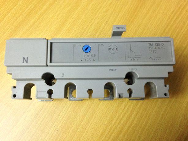 Disparador 4P/3D de 125 Amperes para Disjuntores Compact NS 160/250