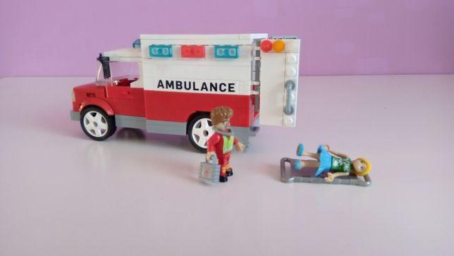 Klocki Cobi karetka pogotowie szpital zestaw jak Lego