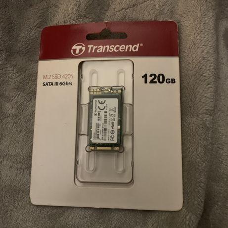 Transcend 120 gb ssd m2 dysk pamiec nowy