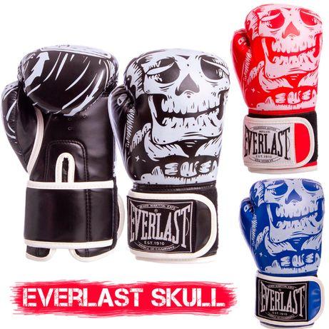 Боксерские перчатки Everlast Skull
