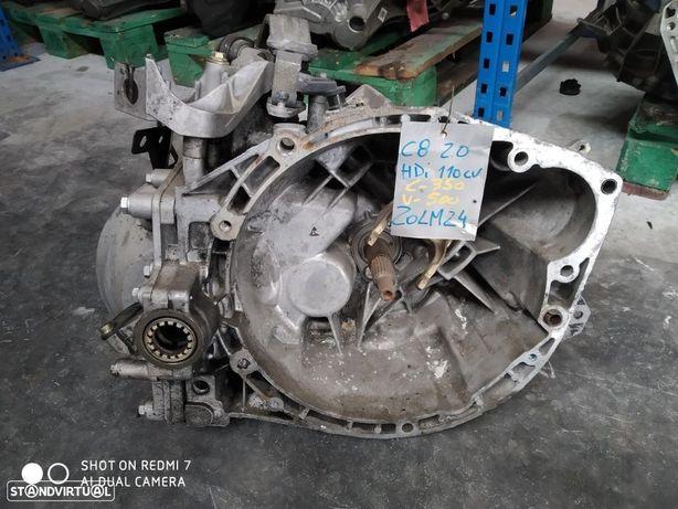 caixa velocidades PSA C8 2.0hdi 20LM24