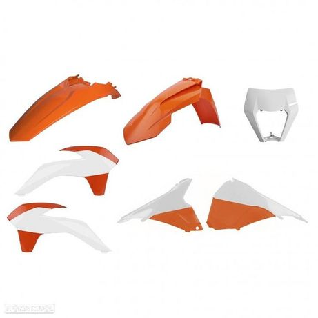 kit plasticos polisport ktm exc 450 / 250 14