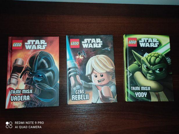 Książki LEGO star wars