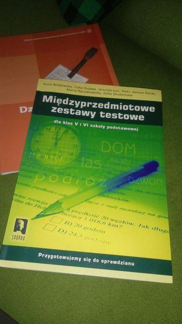 Międzyprzedmiotowe zestawy testowe dla klas V i VI szk. pods.