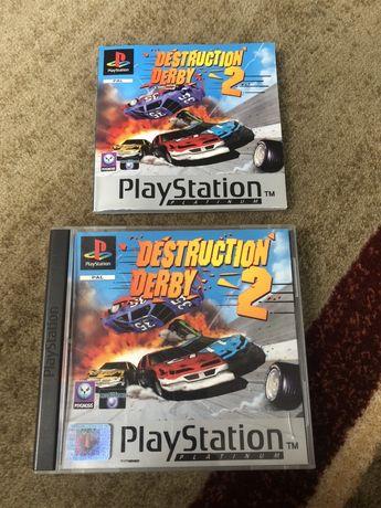 PSX Playstation Destruction Derby 2 komplet stan bardzo dobry