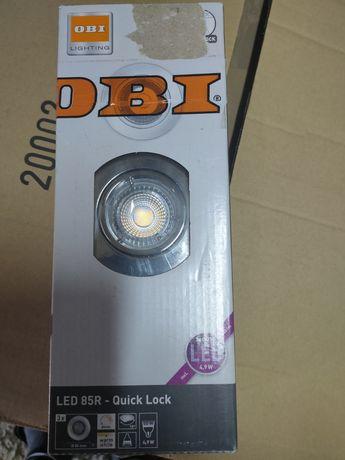 Oczko LED chrom Komplet 3 szt.