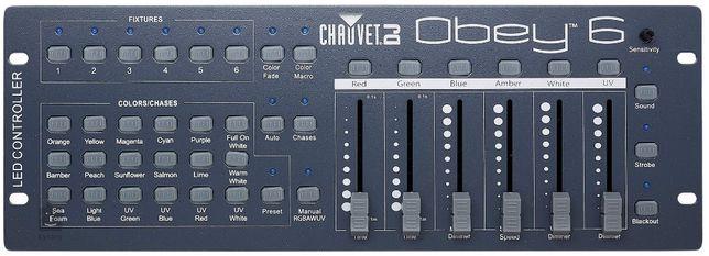 CHAUVET Obey 6 kontroler DMX DJ Led