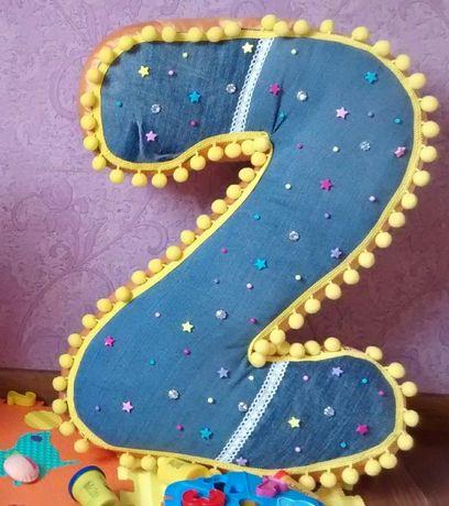 Двоечка на день рождения ребенка. /цифра на др. /2 /двойка/