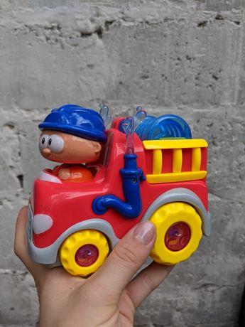 Машинка пожарная| развивающая игрушка| big eyes
