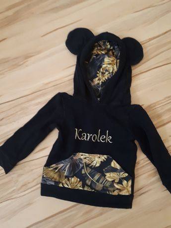 Bluza z haftem KAROLEK venley kids  r 92