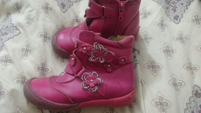 Осенние ботинки на девочку, 30 размер