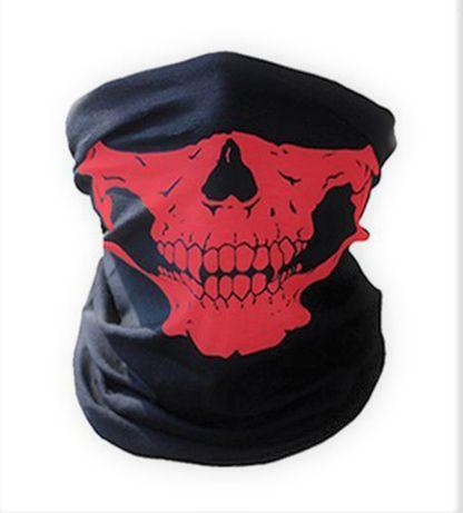 Шарф-трансформер. Бандана с черепом, маска защитная для лица , Баф .