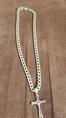 Łancuszek  srebrny