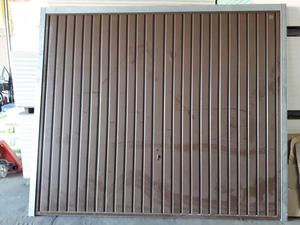 Brama drzwi garażowe  NOWE 257×218