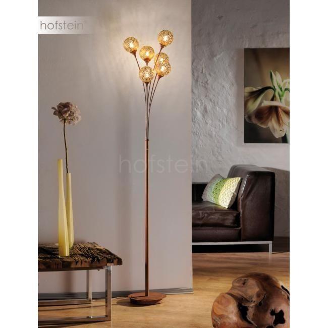 Stylowa elegancka lampa stojąca złota/brązowa GRETA 398-48 Paul Neuhau Częstochowa - image 1