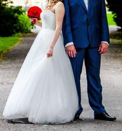 Suknia ślubna Amy Love Jared Princessa Księżniczka kryształki 36 38