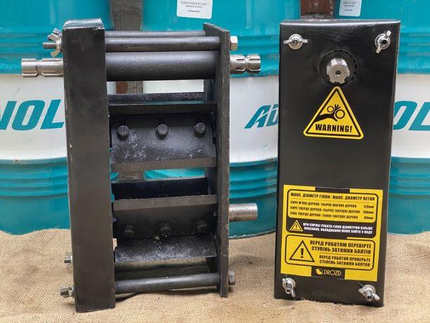 Измельчитель/дробилка веток до 120мм Подрібнювач гілок посилений
