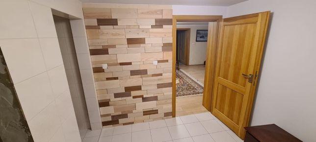 Drzwi wewnętrzne drewniane Pełne jesion lakier bezbarwny