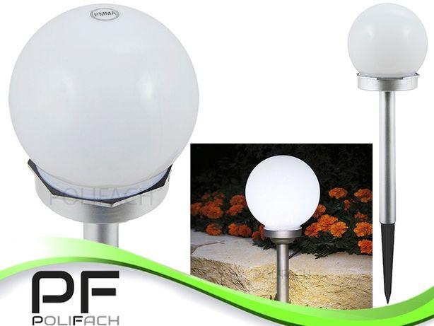 Lampa solarna kula 10CM 2 LED P-010