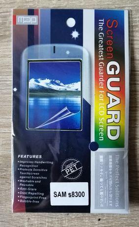 Folia ochronna na Nokii 5800, LG KP500, Samsunga S8300, IPhone-e