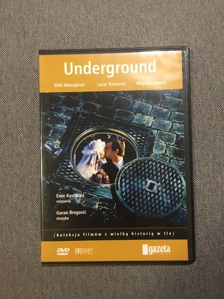 underground film na dvd płyta cd